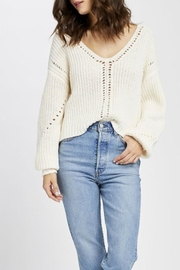 Gentle Fawn Open Weave Sweater - Product Mini Image
