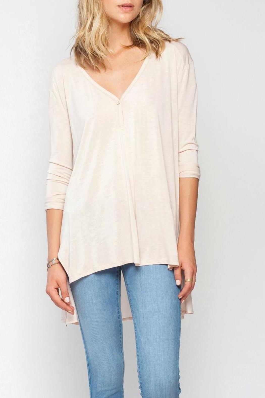 Gentle Fawn Oversized Steam Top - Main Image