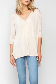 Gentle Fawn Oversized Steam Top - Front cropped