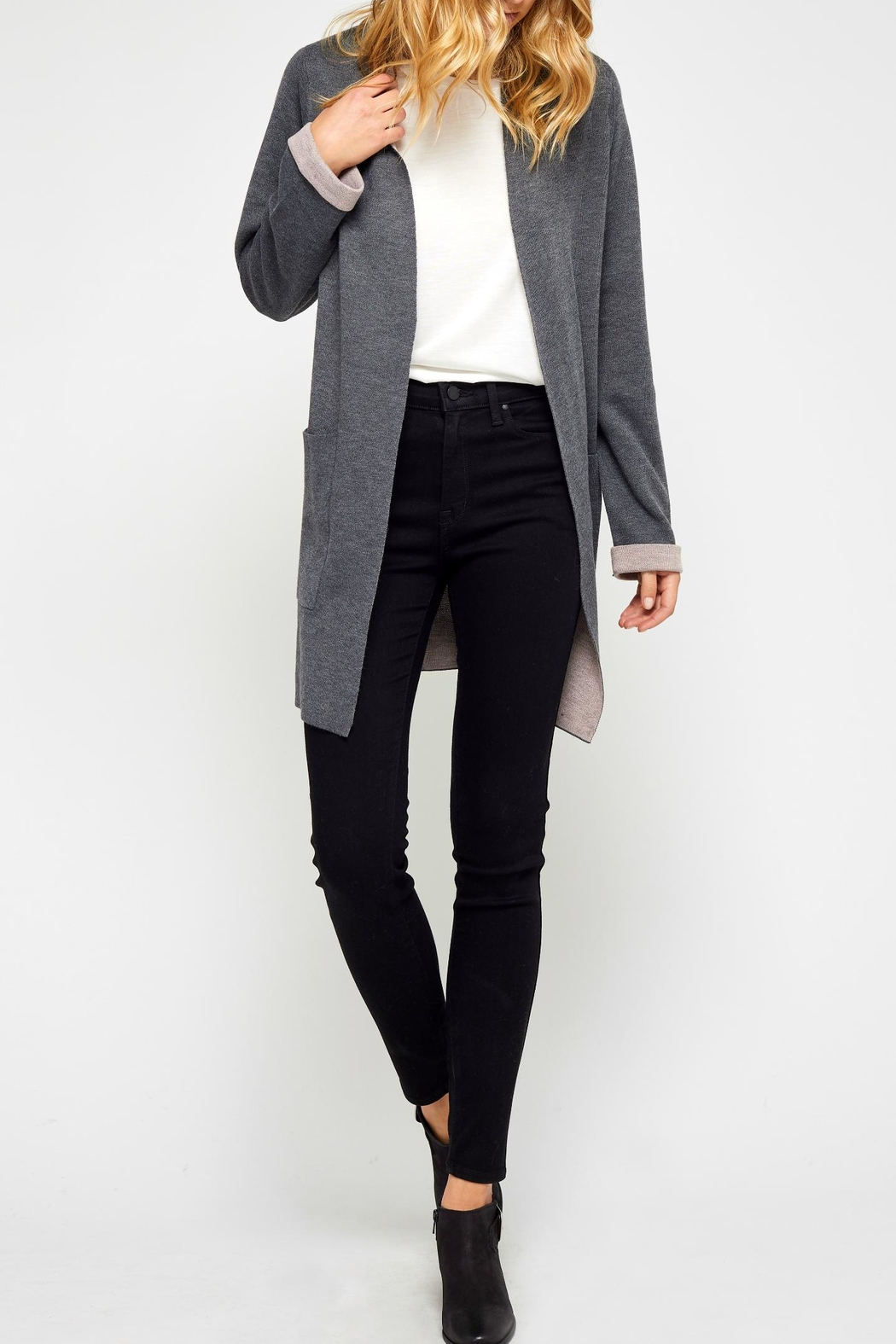 Gentle Fawn Owen Pocket Cardigan - Front Cropped Image