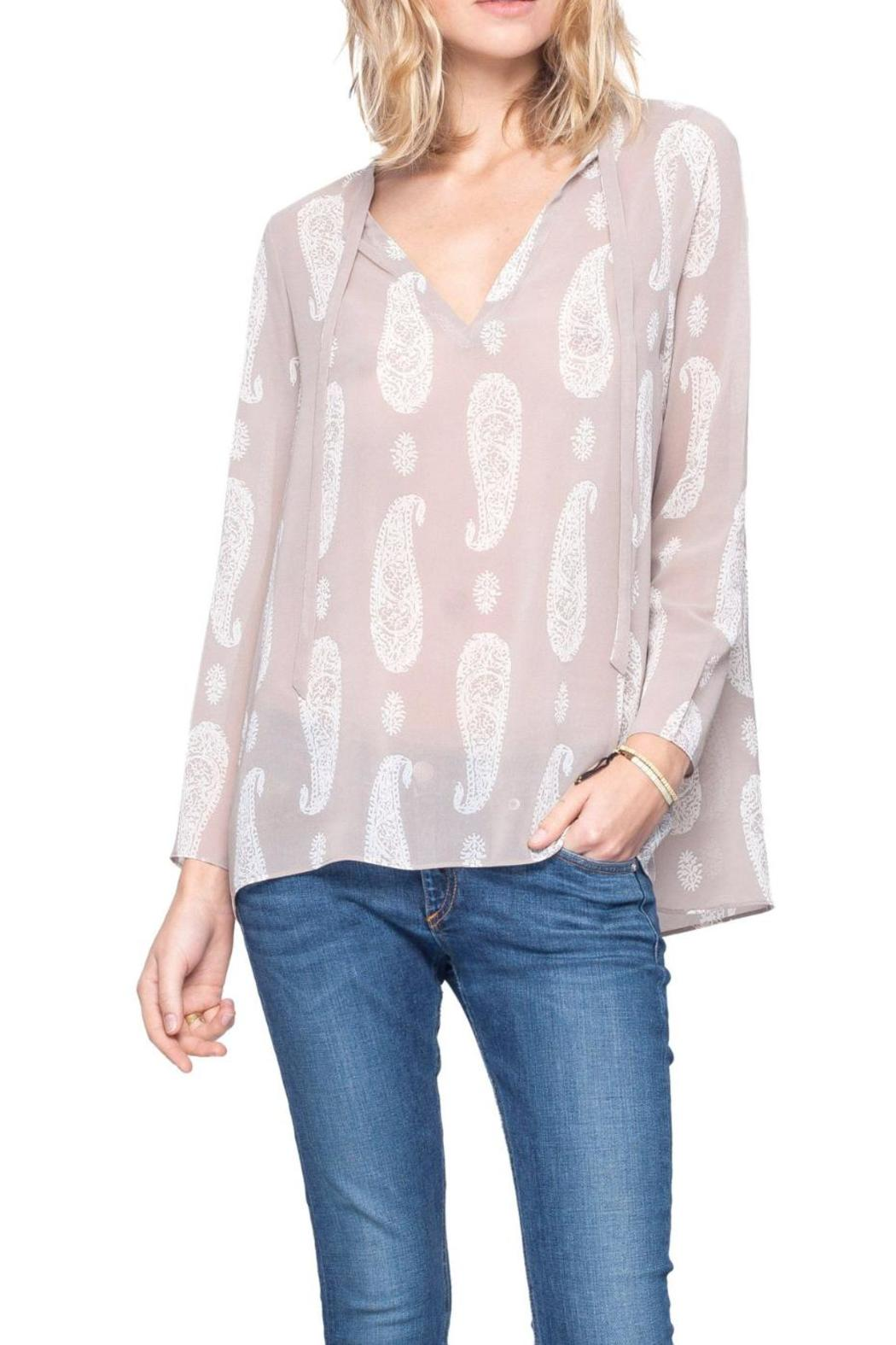 Gentle Fawn Paisley Print Top - Main Image