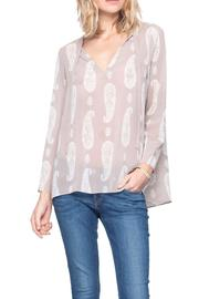 Gentle Fawn Paisley Print Top - Product Mini Image