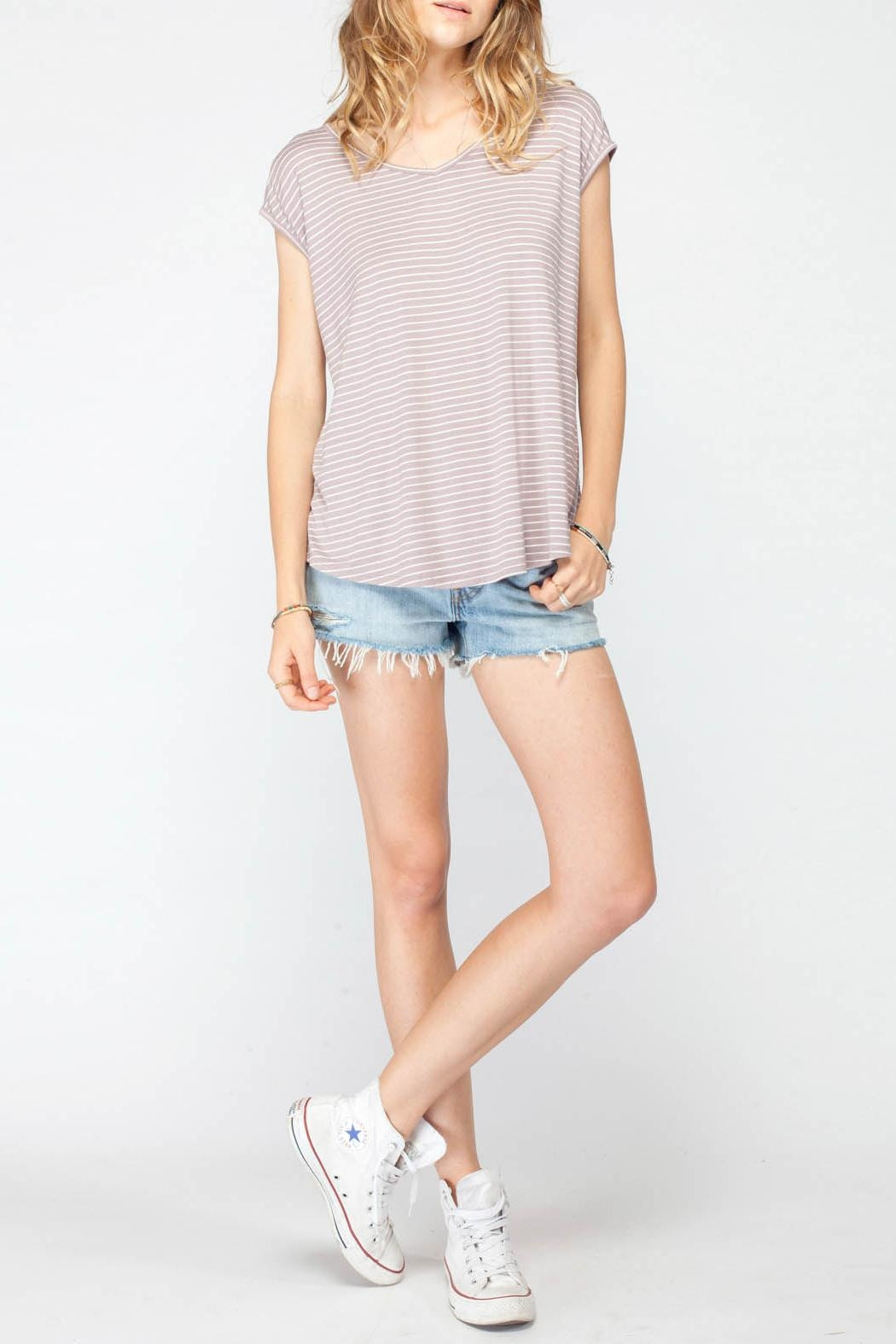 Gentle Fawn Palomino Stripe Top - Front Cropped Image