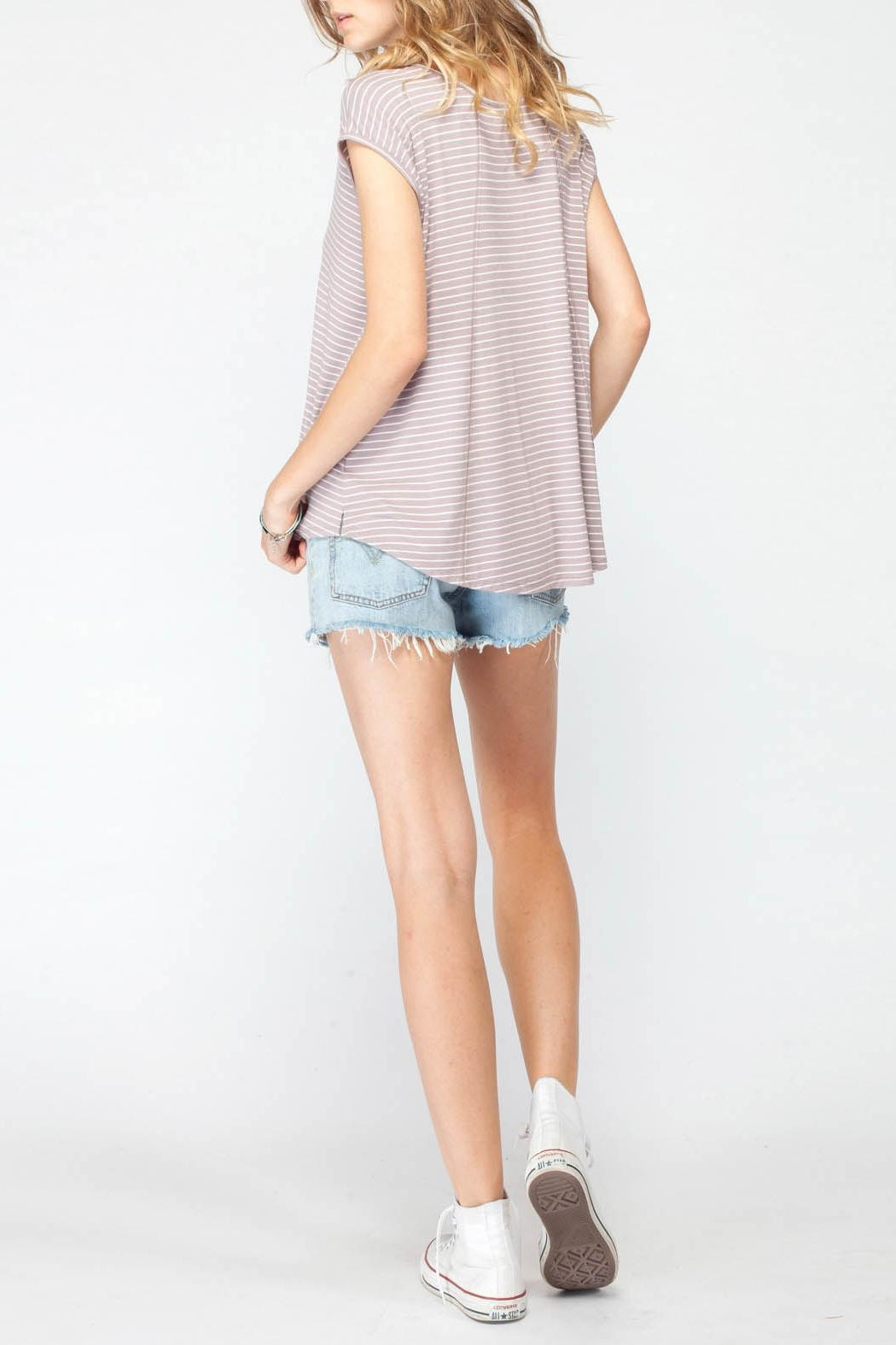 Gentle Fawn Palomino Stripe Top - Side Cropped Image