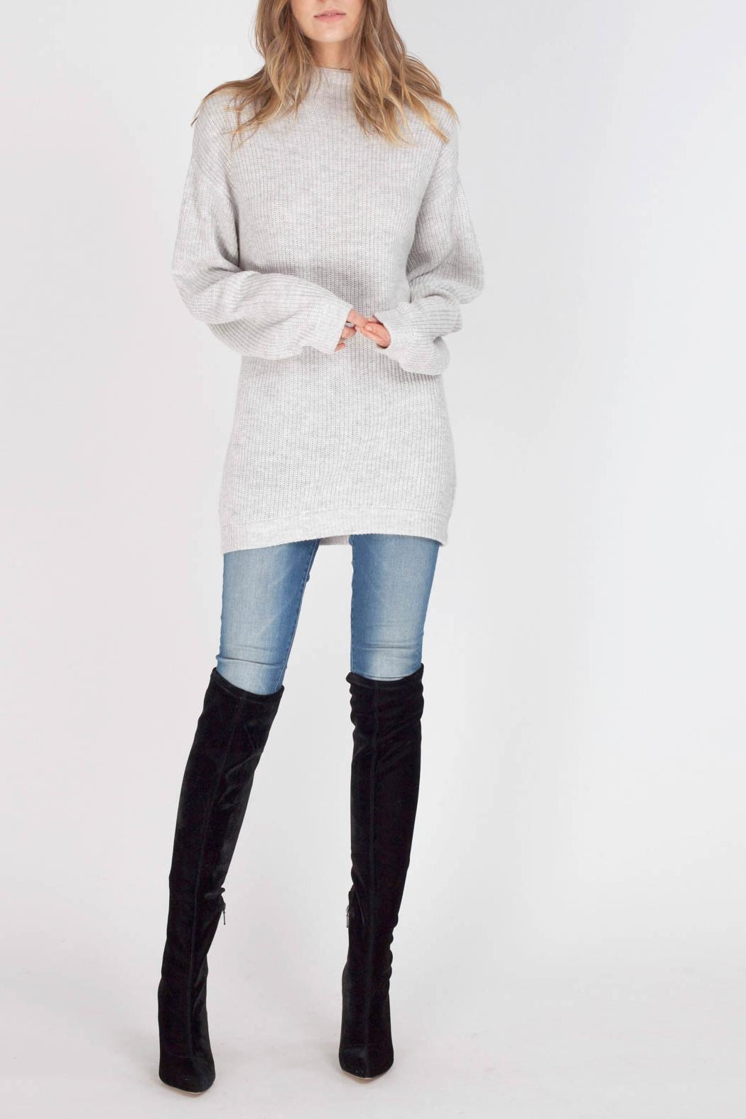 Gentle Fawn Parker Sweater - Front Cropped Image