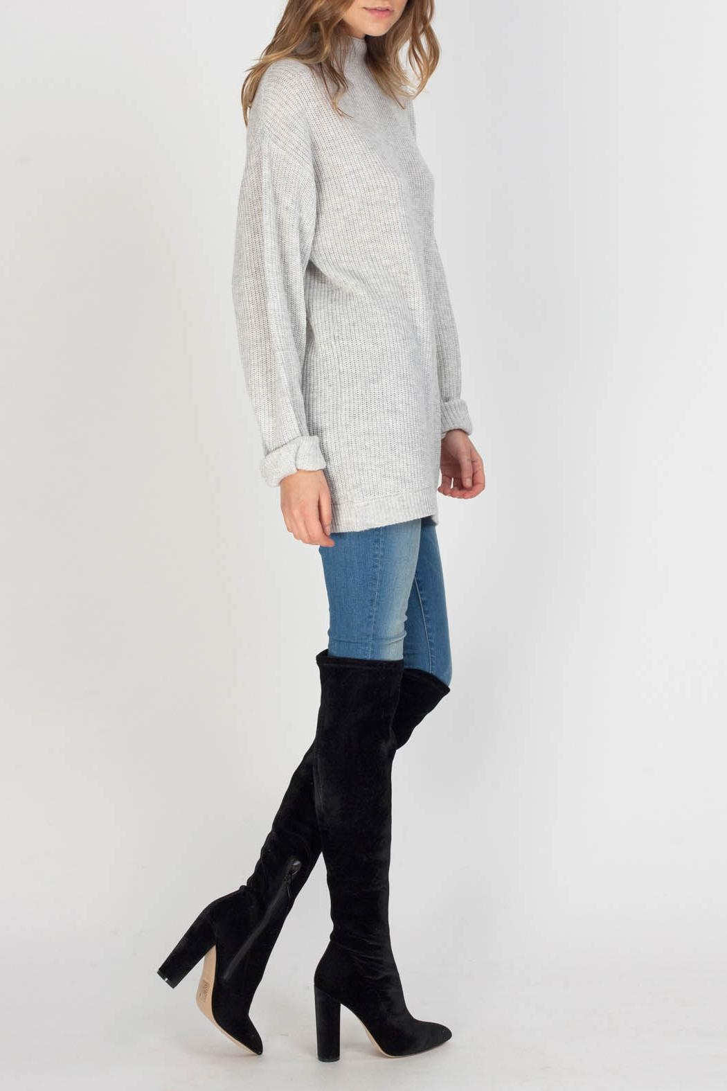 Gentle Fawn Parker Sweater - Front Full Image