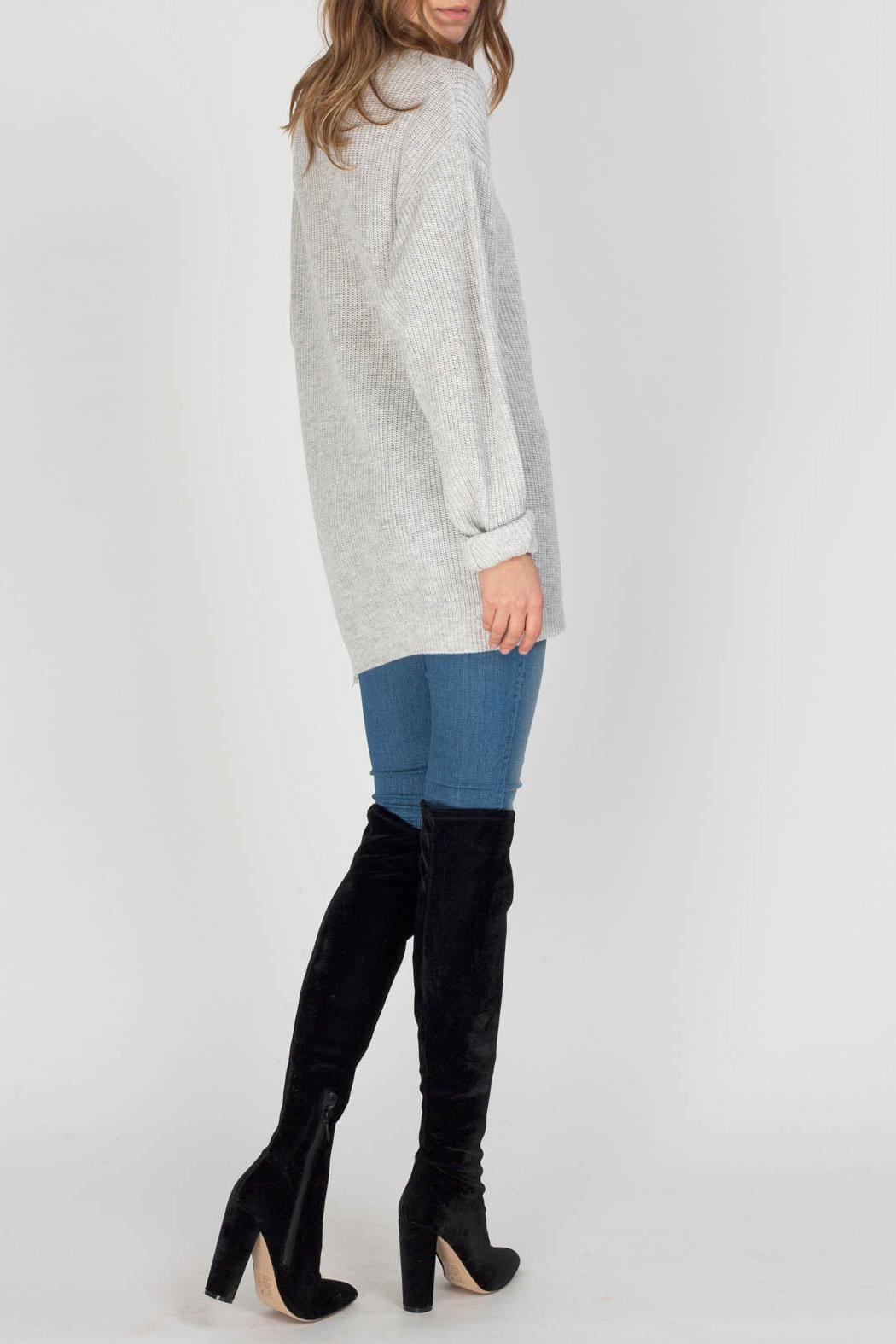 Gentle Fawn Parker Sweater - Side Cropped Image