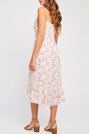Gentle Fawn Pink Floral Dress - Side cropped