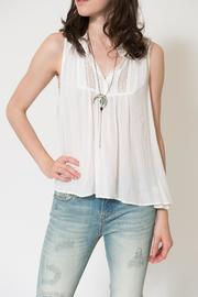 Gentle Fawn Port Pleated Top - Product Mini Image