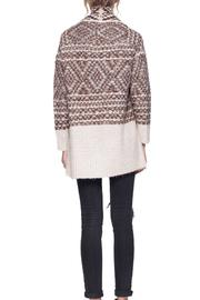 Gentle Fawn Printed Dolly Cardigan - Back cropped