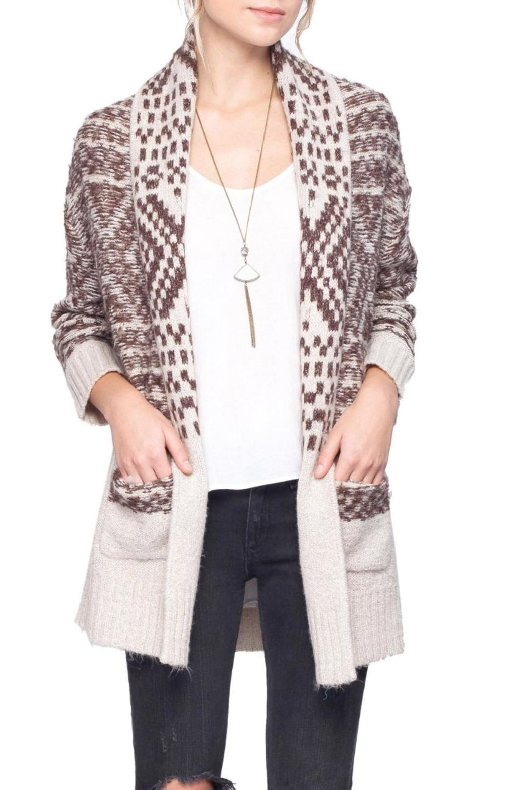Gentle Fawn Printed Dolly Cardigan - Main Image