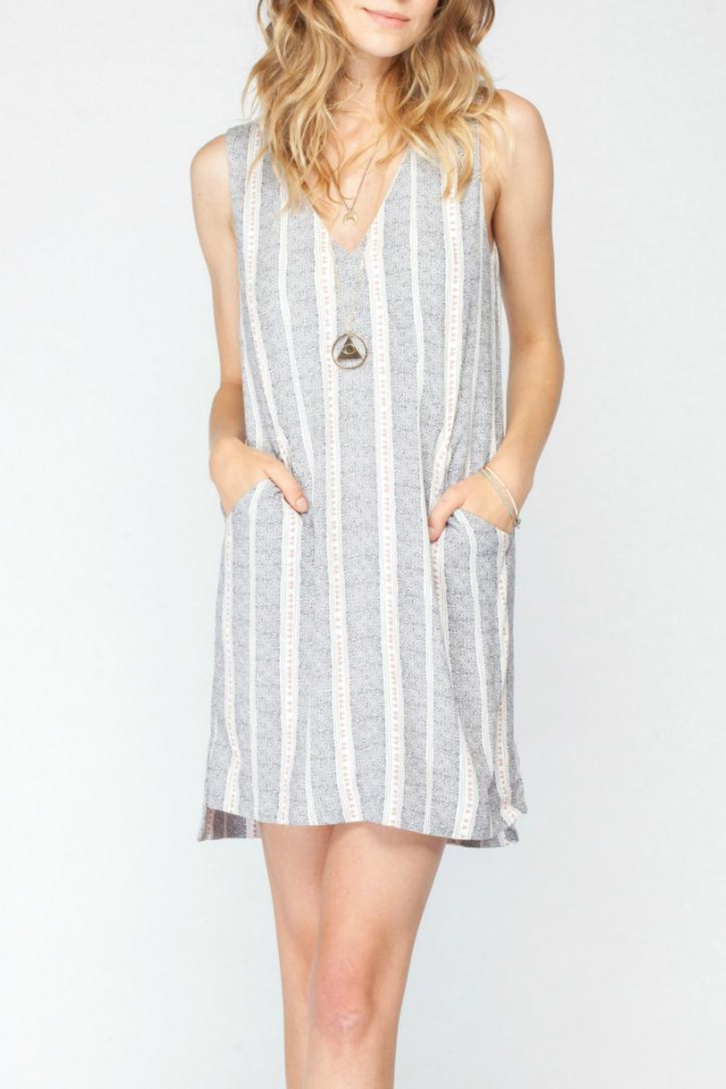 Gentle Fawn Printed Shift Dress - Main Image
