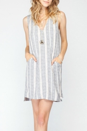 Gentle Fawn Printed Shift Dress - Front cropped