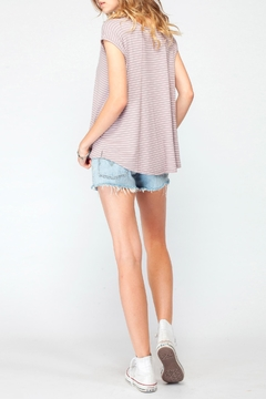 Gentle Fawn Relaxed Rose Stripe Top - Alternate List Image