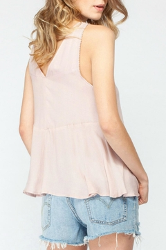Gentle Fawn Peplum Sleeveless Top - Alternate List Image