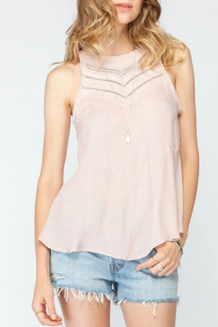 Gentle Fawn Peplum Sleeveless Top - Product List Image