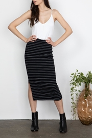 Gentle Fawn Ribbed Midi Skirt - Product Mini Image