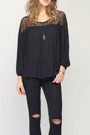 Gentle Fawn Ruffle Hem Top - Product Mini Image