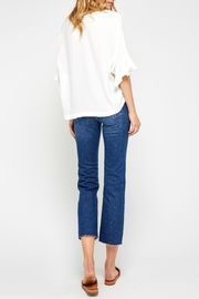 Gentle Fawn Ruffle Sleeve Top - Back cropped