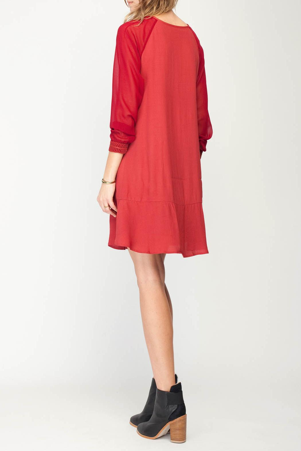 Gentle Fawn Senses Dress - Back Cropped Image