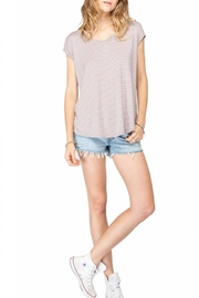 Gentle Fawn Striped Short Sleeve Top - Product Mini Image