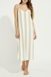 Gentle Fawn Side Lace Up Dress - Front cropped