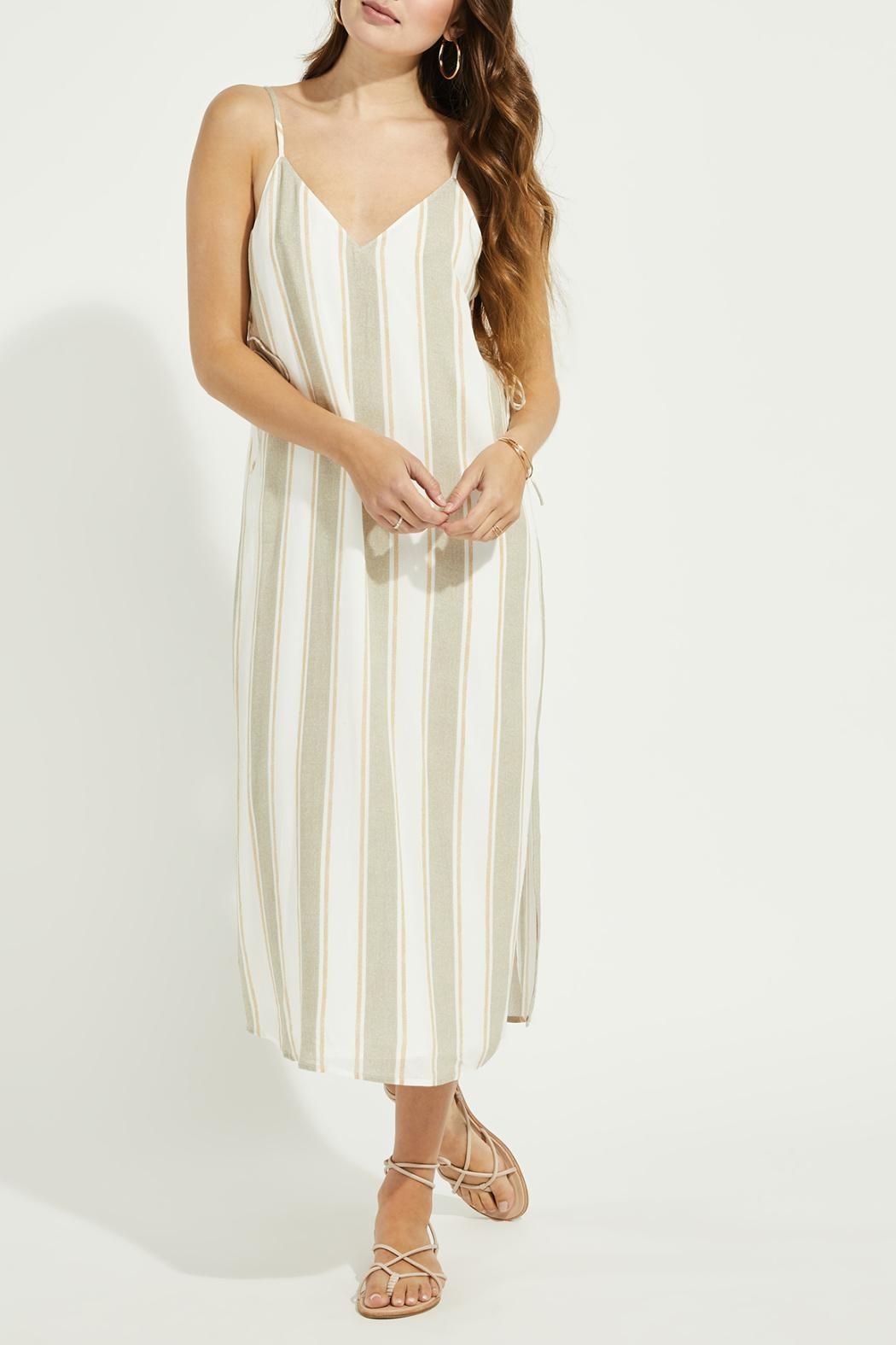 Gentle Fawn Side Lace Up Dress - Front Full Image