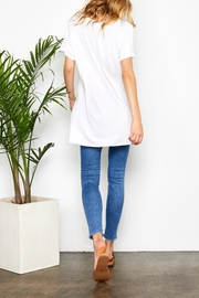 Gentle Fawn Side Slit Tee - Back cropped