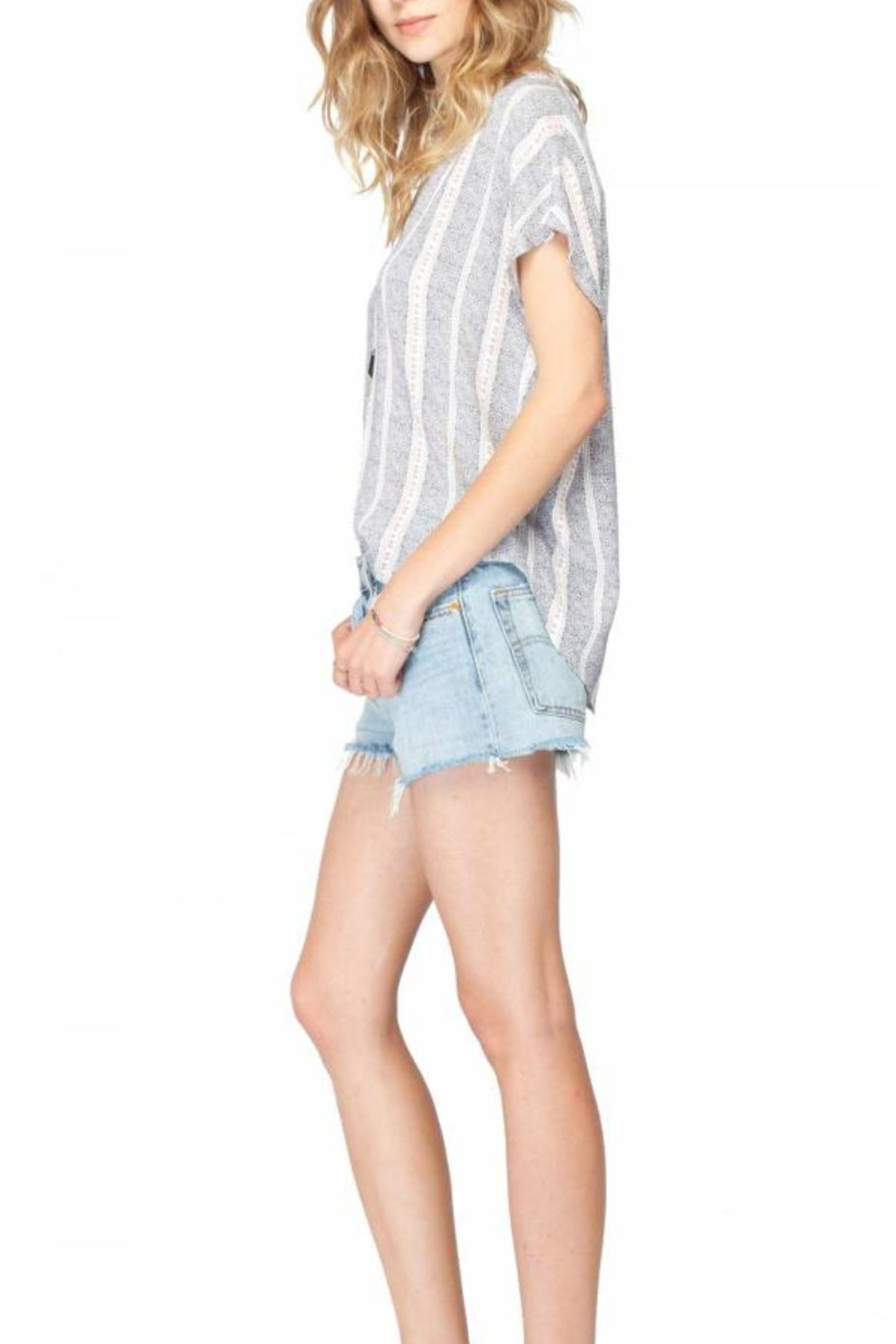 Gentle Fawn Sleeveless Lightweight Woven Top - Front Full Image