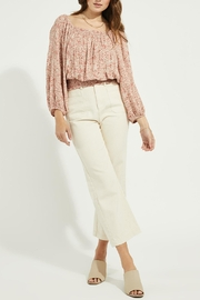 Gentle Fawn Smocked Waistband Top - Product Mini Image