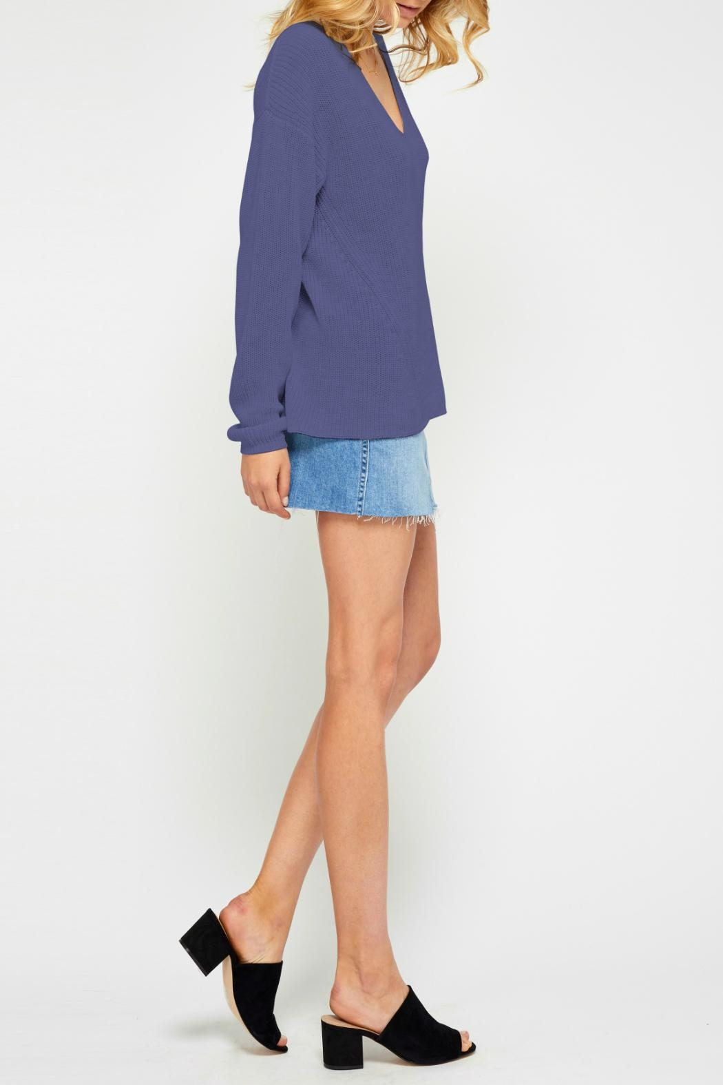 Gentle Fawn Soft Lightweight Sweater - Front Full Image