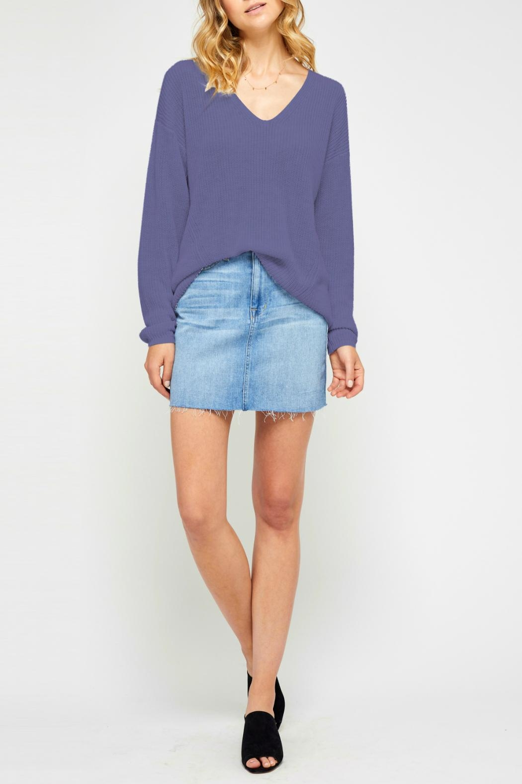 Gentle Fawn Soft Lightweight Sweater - Front Cropped Image