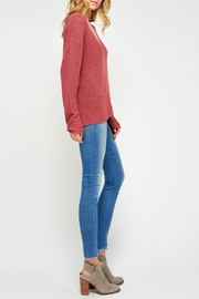 Gentle Fawn Soft Lightweight Sweater - Front full body