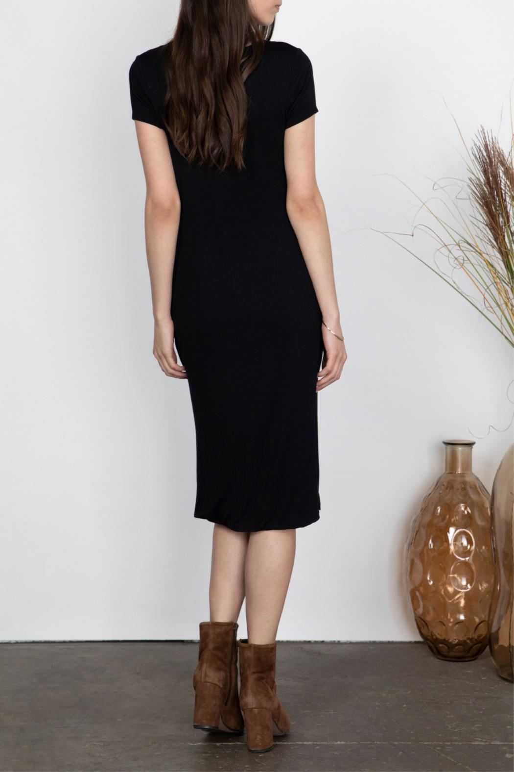 Gentle Fawn Soft Midi Dress - Side Cropped Image