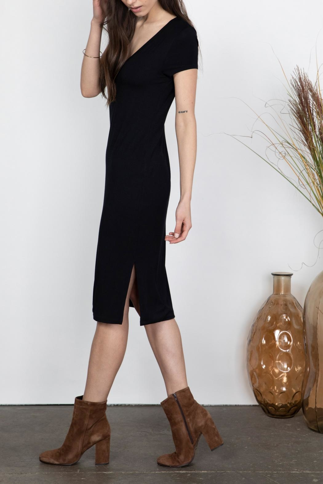 Gentle Fawn Soft Midi Dress - Front Full Image
