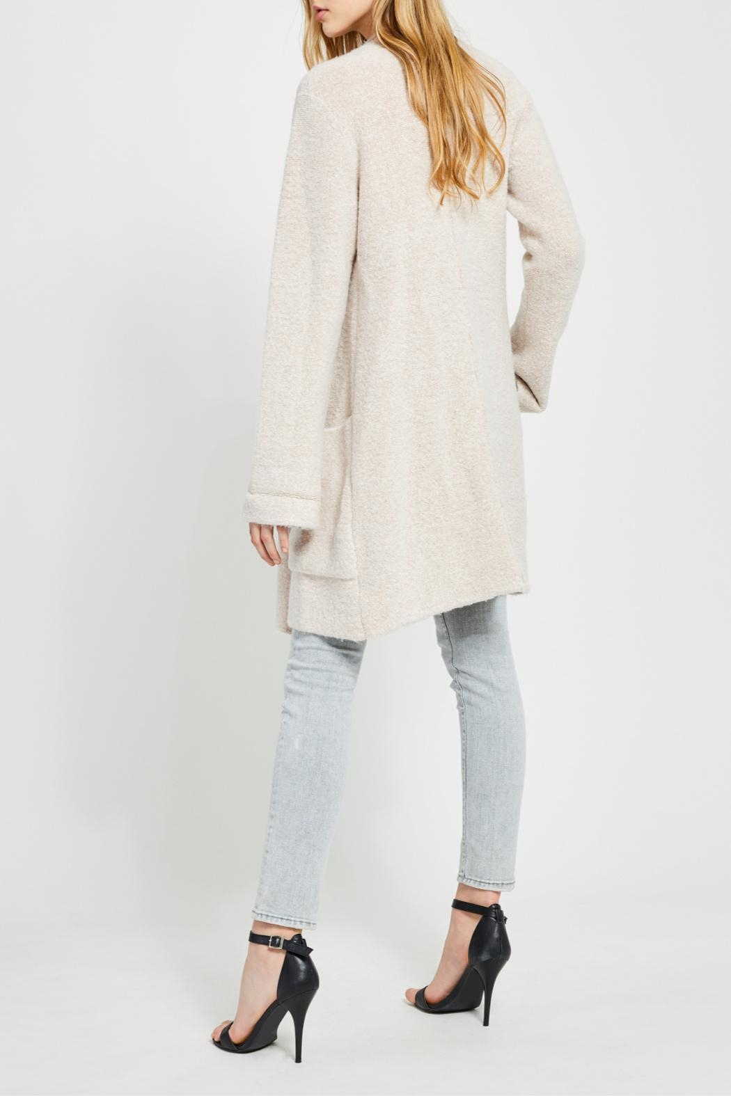 Gentle Fawn Soft Open Cardigan - Back Cropped Image