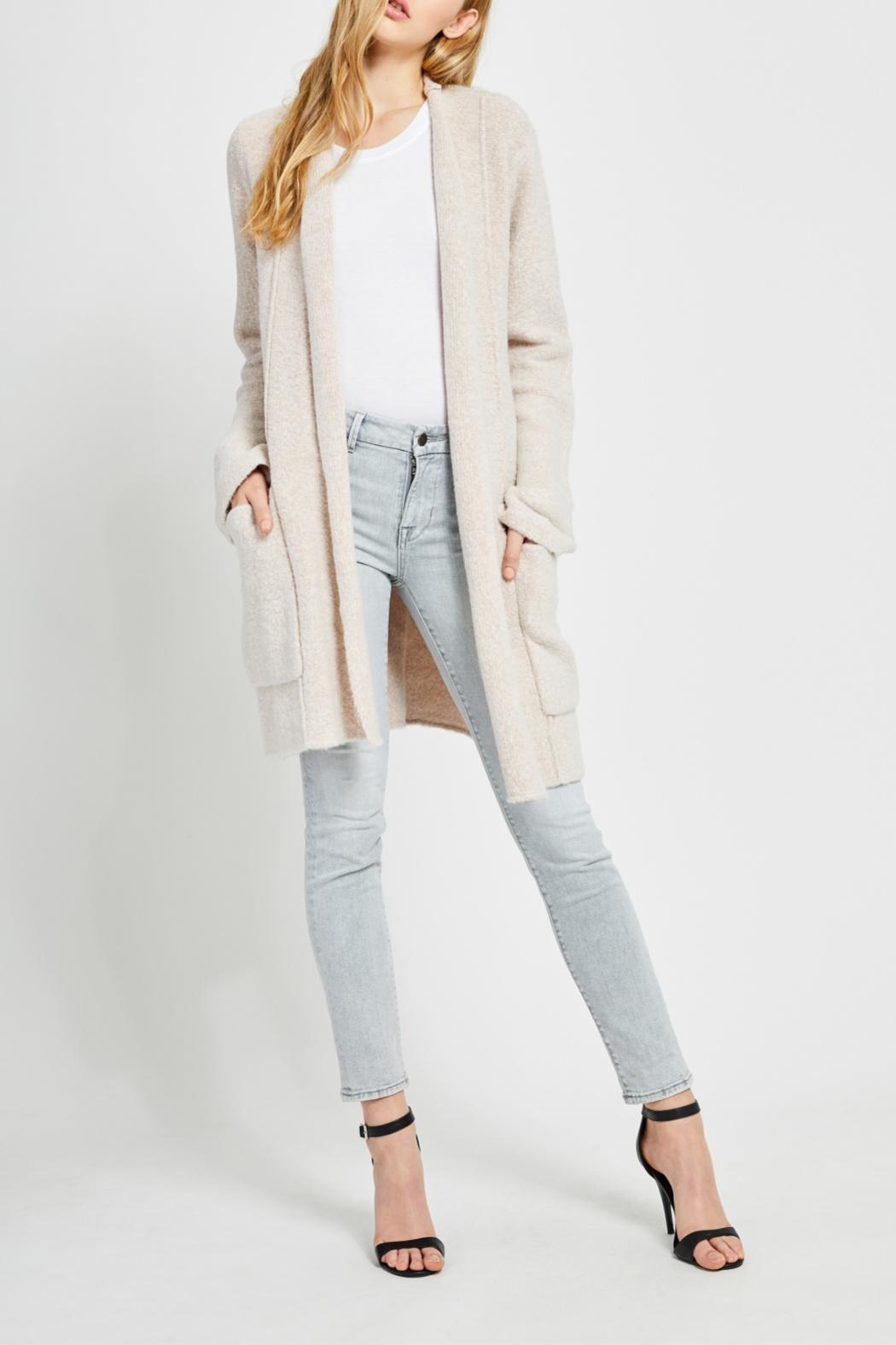 Gentle Fawn Soft Open Cardigan - Front Full Image