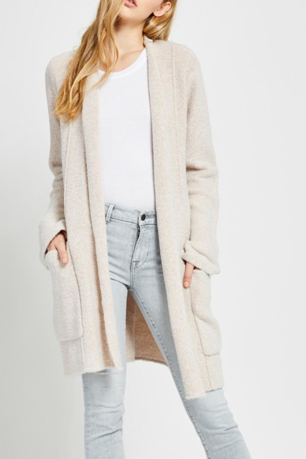 Gentle Fawn Soft Open Cardigan - Main Image