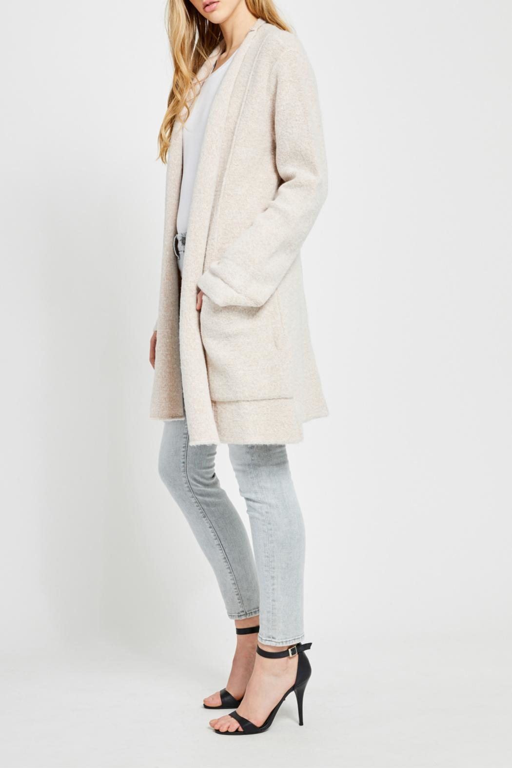 Gentle Fawn Soft Open Cardigan - Side Cropped Image