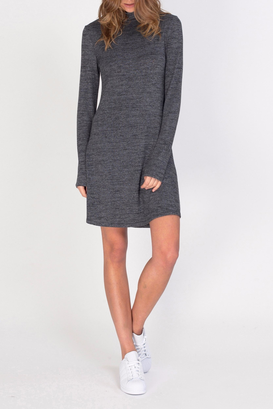 Gentle Fawn Soft Turtleneck Dress - Front Cropped Image