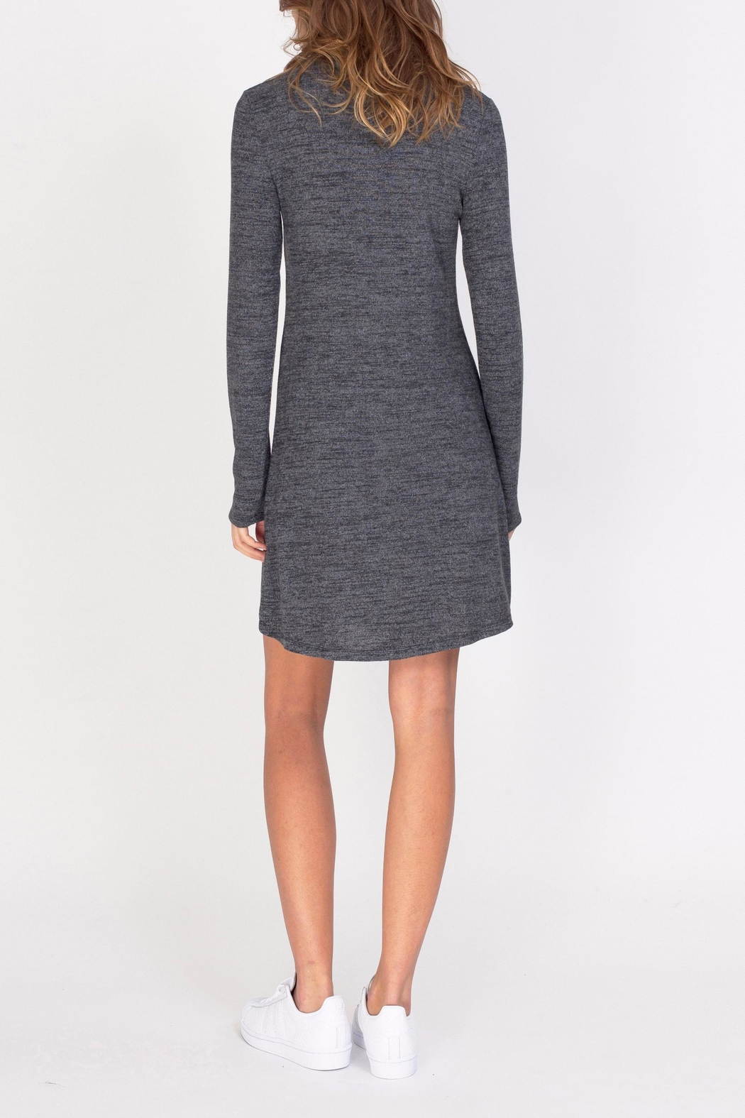 Gentle Fawn Soft Turtleneck Dress - Side Cropped Image