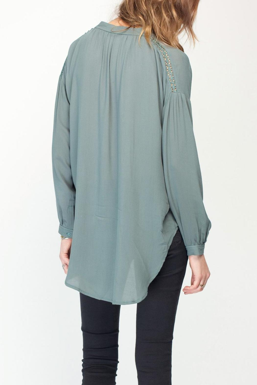 Gentle Fawn Solid Balsam Blouse - Back Cropped Image