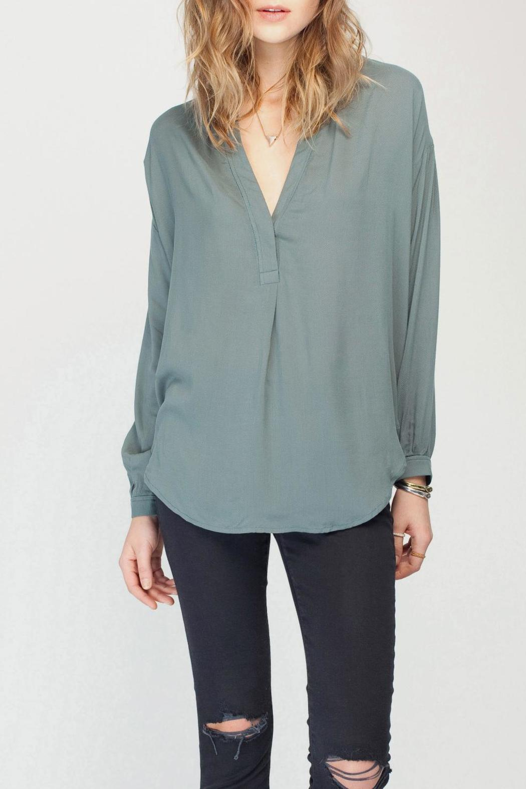 Gentle Fawn Solid Balsam Blouse - Main Image