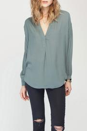 Gentle Fawn Solid Balsam Blouse - Front cropped