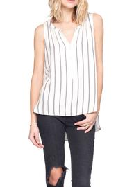 Gentle Fawn Striped Aspire Top - Product Mini Image