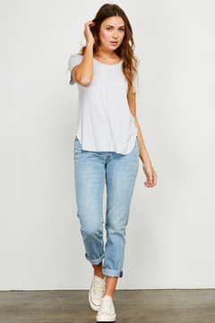Gentle Fawn Striped Basic Tshirt - Product List Image