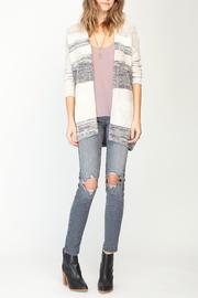 Gentle Fawn Striped Cardigan - Product Mini Image