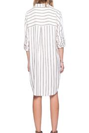 Gentle Fawn Striped Shirt Dress - Side cropped