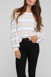 Gentle Fawn Striped Spring Sweater - Product Mini Image