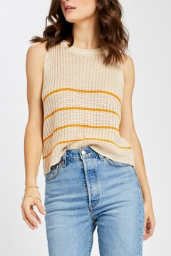 Gentle Fawn Striped Sweater Tank - Product List Image